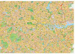 London Maps London Map Vector London Eps Illustrator Vector Maps Eps