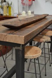 Industrial Bar Table Industrial Bar Table And Stools The Furnishings For