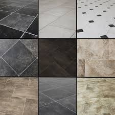 black and white square laminate flooring