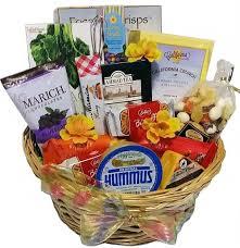 snack gift basket healthy and sweet snack basket
