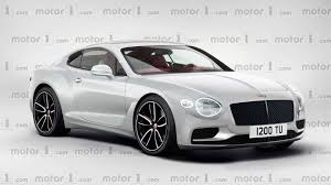 continental bentley will the 2018 bentley continental gt look like this