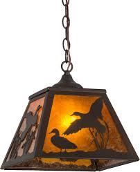meyda tiffany 154749 ducks in flight rustic antique copper amber
