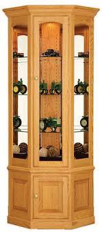 corner curio cabinets for sale curio cabinets all craftsman listing
