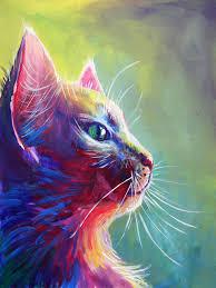 imagenes abstractas hd de animales colores brillantes pintados a mano de alta calidad abstracta