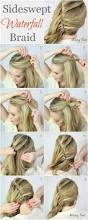 10 best waterfall braids hairstyle ideas for long hair popular