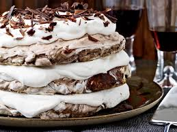 hazelnut and chocolate meringue cake recipe daniel jasso food