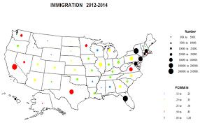 Interior Plains Population Recent Population Change In Us States 2012 2014 Newgeography Com