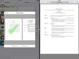 Resume Builder Pro The Best Iphone Apps For Resumes Apppicker