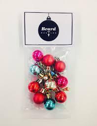christmas ornaments for beards popsugar beauty
