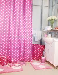polka dot pink shower curtain bath mat set ceramic bath polka dot pink shower curtain bath mat set ceramic bath accessories set