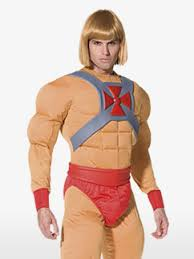 Man Halloween Costume Cartoon Characters Fancy Dress Party Delights