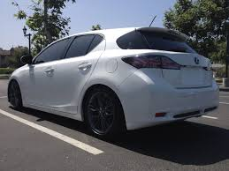 lexus ct200h lowered official