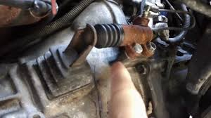 how to fix a transmission clutch slave cylinder on a 1991 toyota