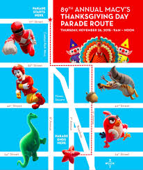 macy s thanksgiving day parade 2015 route map new york parade