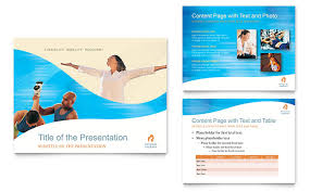 physical therapist powerpoint presentation template design