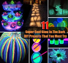 11 Super Cool Glow In The Dark DIY Projects That You Must Try