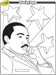 Martin Luther King Jr Coloring Page Crayola Com Dr Martin Luther King Jr Coloring Pages