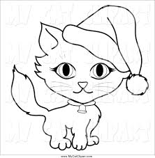 royalty free stock cat designs of coloring pages