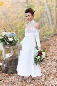 cold shoulder wedding dress 25 pretty shoulder wedding dresses aisle