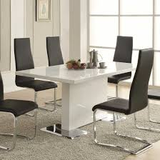 Modern Glass Dining Table Modern Dinning Sets Coaster Modern Dining Contemporary Glass