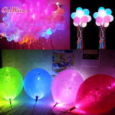 party decorations halloween 100pcs lot colorful led lamps balloon lights for paper lantern