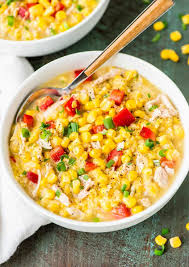 crock pot corn chowder