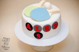ping pong birthday cake u2013 olison u0027s cupcakes