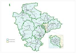 England County Map by Devon County Council Lgbce