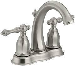 Kohler Brushed Bronze Bathroom Faucets by Kohler K 13490 4 Bn Kelston Center Set Bathroom Sink Faucet