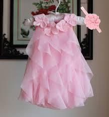 dress 2017 summer chiffon dress infant 1 year birthday