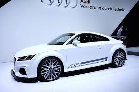 420 Hp Audi Tt Quattro Sport Concept Shown At Geneva Motor Trend Wot