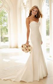 Fitted Wedding Dresses Dolce Fit And Flare Dress Stella York Lace Bodice And Bodice