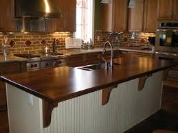 Kitchen Island Tops Kitchen Island Tops Beautiful Afromosia Custom Wood Countertops