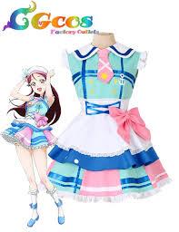 wholesale halloween costumes code cgcos cosplay costume love live sunshine aqours riko sakurauchi