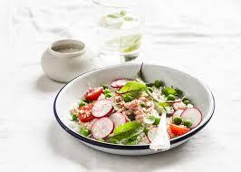 cuisine saine délicieuse cuisine saine salade de couscous légumes frais et le
