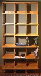 Oak Bookshelves by Built In Red Oak Bookshelves Edgewater Woodwork