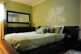 green bedroom ideas green bedroom design with wall decals home interior design 29906