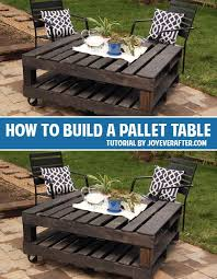 15 Unique Pallet Picnic Table 101 Pallets by How To Build A Pallet Table And Lots Of Other Great Diy Projects