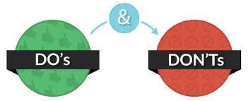 home design do s and don ts home design do s and don ts 28 images home design do s and don