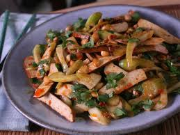 Celery Salad Sichuan Tofu Gan And Warm Celery Salad Recipes Cooking Channel