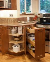 Cherry Oak Cabinets Kitchen Sunshiny Granite Counter With Bulb Lamp Decoration Then Cream Tile