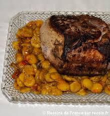 cuisiner roti de porc recette rôti de porc aux mirabelles sur recoin fr