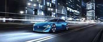 concept car of the peugeot instinct concept car peugeot uk
