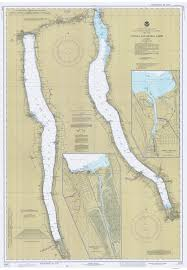 Ithaca New York Map by New York Historical Nautical Charts