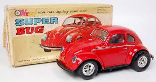 bug volkswagen taiyo japan large tinplate