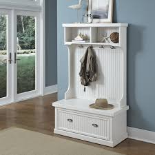 Bench With Storage Baskets by Hall Tree With Storage Bench And Baskets Bench Decoration