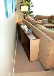 sofa table behind couch sofa table against wall sofa console table between sofa and wall