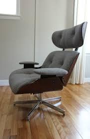 blue lamb furnishings plycraft lounge chair ottoman sold