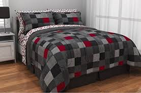 minecraft style bedding queen size comforter sheet set reversible
