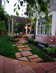 driveway landscaping ideas concrete delightful outdoor ideas